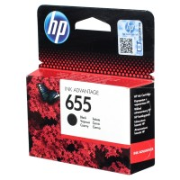 HP 655 Black Ink Cartridge HPCZ109A