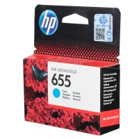 HP 655 Cyan Ink Cartridge HPCZ110A