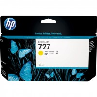 Картридж HP B3P21A Yellow  №727 для DesignJet T1500/T2500
