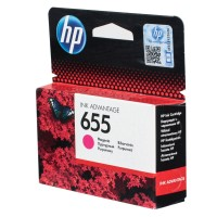 HP 655 Magenta Ink Cartridge HPCZ111A