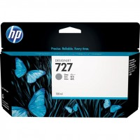Картридж HP B3P24A Gray Ink №727 для DJ T1500/T2500/T920, 130 ml