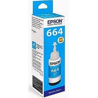 Чернила C13T66424A L100/200/300/400/500/1300 Cyan ink bottle 70ml