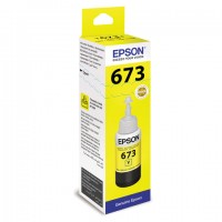 Чернила C13T67344A L800 Yellow ink bottle 70ml