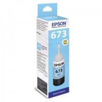 Чернила C13T67354A L800 Light Cyan ink bottle 70ml