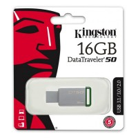 USB Флеш  16GB 3.0 Kingston DT50/16GB металл