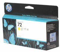 Картридж HP C9373A Yellow Ink Cartridge Vivera №72 for DesignJet T1100